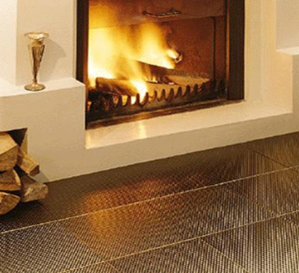 fireplace wall tile
